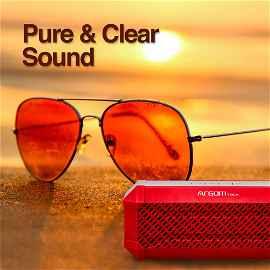 Parlante BT inalambrico Buzzbeats ARGOM ARG-SP-3008RD Rojo