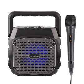 SPEAKER ARGOM ARG-SP-3010BK RUMBA BOX K4 WIRELESS BT TWS 5000MW RMS SD SLOT USB MIC.INCLUIDO A00480