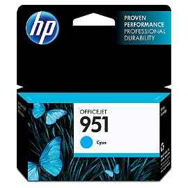 HP 951 - Cián - original