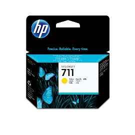 HP 711 - 29 ml - amarillo tintado