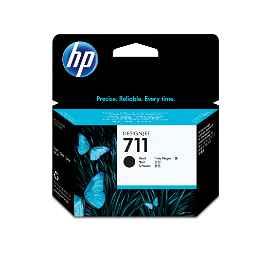 HP 711 - 80 ml - negro