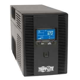 Tripp Lite UPS Smart LCD 120V 50/60Hz 1500VA 900W Line-Interactive AVR, Tower, Battery Back-Up LCD, USB, 10 Outlets - UPS - CA 120 V