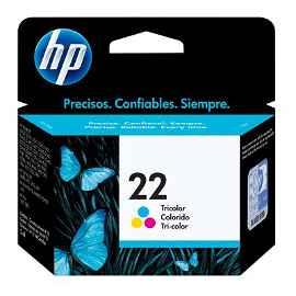 HP 22 - 5 ml - color (cian, magenta, amarillo)