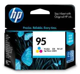 HP 95 - 7 ml - color (cian, magenta, amarillo)