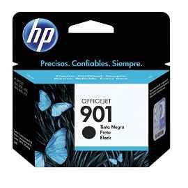 HP 901 - 4 ml - negro