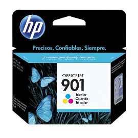 HP 901 - 9 ml - color (cian, magenta, amarillo)