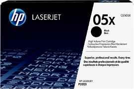 HP 05X - Alto rendimiento - negro