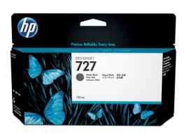 HP 727 - 130 ml - negro mate