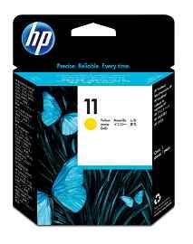 HP 11 - Amarillo tintado - cabezal de impresión