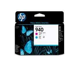 HP 940 - Cián, magenta - cabezal de impresión