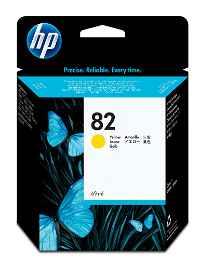HP 82 - 69 ml - amarillo tintado
