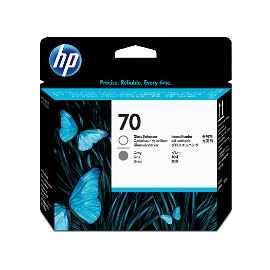 HP 70 - Gris, intensificador de brillo - cabezal de impresión
