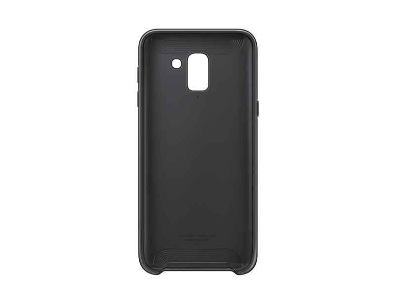 Samsung Dual Layer Cover EF-PJ600 - Carcasa trasera para teléfono móvil - negro