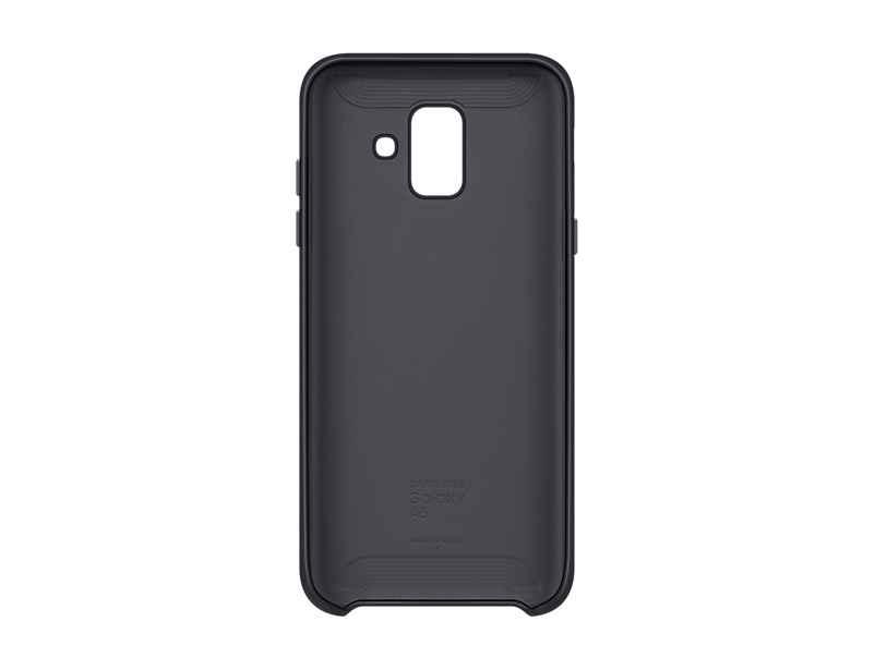 Samsung Dual Layer Cover EF-PA600 - Carcasa trasera para teléfono móvil - negro