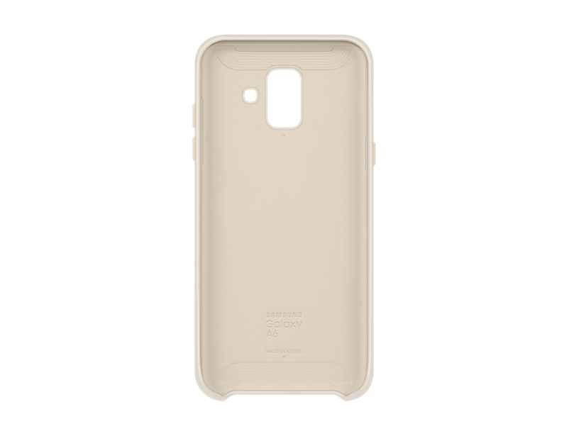 Samsung Dual Layer Cover EF-PA600 - Carcasa trasera para teléfono móvil - oro