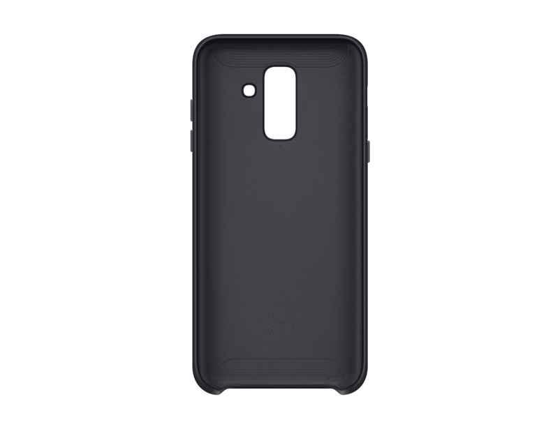 Samsung Dual Layer Cover EF-PA605 - Carcasa trasera para teléfono móvil - negro