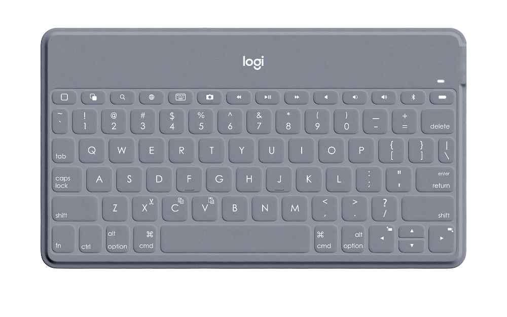 Logitech Keys-To-Go - Teclado - Bluetooth - piedra