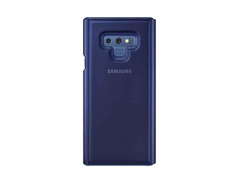 Samsung Clear View Standing Cover EF-ZN960 - Con tapa para teléfono móvil - azul