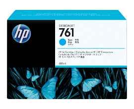 HP 761 - 400 ml - cian tintado