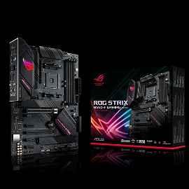 ASUS ROG STRIX B550-F GAMING (WI-FI) - Placa base - ATX - Socket AM4 - AMD B550 - USB-C Gen2, USB 3.2 Gen 1, USB 3.2 Gen 2 - 2.5 Gigabit LAN, Wi-Fi, Bluetooth - Tarjeta gráfica (CPU necesaria) - HD Audio (8-canales)