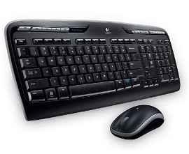 Logitech Wireless Desktop MK320 - Juego de teclado y ratón - inalámbrico