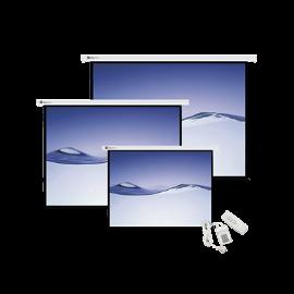 Pantalla de proyección diagonal