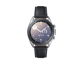 Samsung - Smart watch - Aluminum silver - Galaxy Watch 3