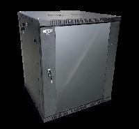 Nexxt Solutions SKD - Armario - instalable en pared - negro, RAL 9005 - 18U - 19