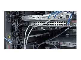 APC - Panel de organización de cables para bastidor - negro - para P/N: AR3103SP, AR3106SP, SRT1000RMXLI, SRT1000RMXLI-NC, SRT10RMXLIX806, SRT5KRMXLW-TW
