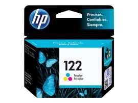 HP 122 - 1.5 ml - amarillo, cián, magenta - original - cartucho de tinta - para Deskjet 1000 J110, 10XX, 15XX, 2050 J510, 2050A J510, 2054A J510, 25XX; Envy 45XX