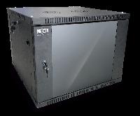 Nexxt Solutions SKD - Armario - instalable en pared - negro, RAL 9005 - 9U - 19