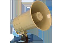 Honeywell - Self-contained dual - tone electronic siren 6-12VDC - 15 watt - Combinacion de altavoz y sirena - Tono Dual - Trino y estable - Entrada de alimentacion de CC de 6 a 12 voltios - Tamaño pequeño 5