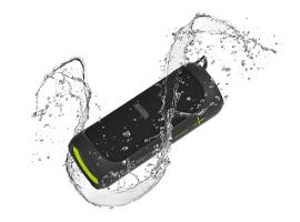 Klip Xtreme Port. TWS Audio KBS-800 - Speaker - black with green accents - 20W - IPX7