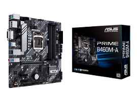 ASUS PRIME B460M-A - Placa base - micro ATX - Socket LGA1200 - B460 Chipset - USB 3.2 Gen 1 - Gigabit LAN - Tarjeta gráfica (CPU necesaria) - HD Audio (8-canales)