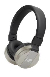 Klip Xtreme KHS-620 - Auriculares con diadema con micro - en oreja - Bluetooth - inalámbrico - plata